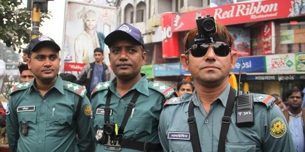 """Robocop"" Bangladeshi version."