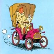 """Tintin """"rainbow version""""."""