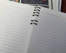 自分だけのノートを作ってみよう!