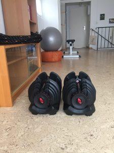 haltères bowflex