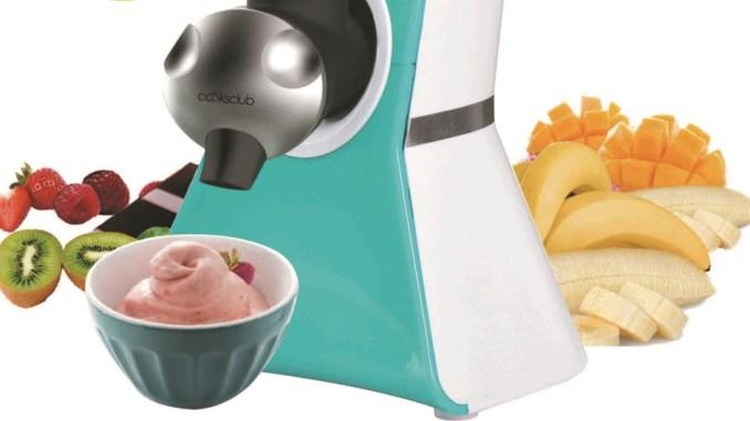 אייס פרוטי - מכונה להכנת גלידת פירות