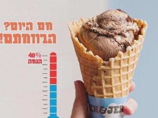 הטמפרטורה תקבע את אחוזי ההנחה...