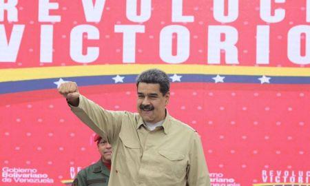 Maduro esteve numa festa durante a pandemia