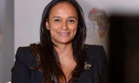 Empresária angolana Isabel dos Santos