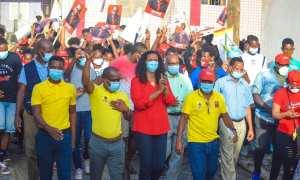 Membros e apoiantes do PAICV