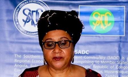 Secretária executiva da SADC, Stergomena Lawrence Tax