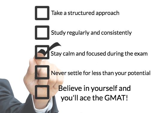 gmat tips 760 score gmat working professional
