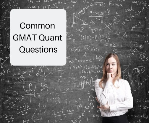 GMAT sample Questions - Most common GMAT questions