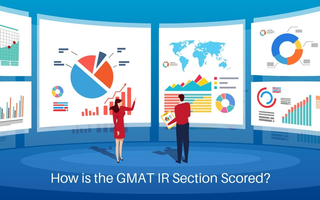 How is the GMAT IR Section Scored?
