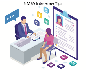 5 MBA interview tips - Most common MBA interview questions