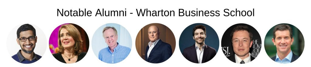 Wharton Business School, Wharton MBA Program - Notable Alumni