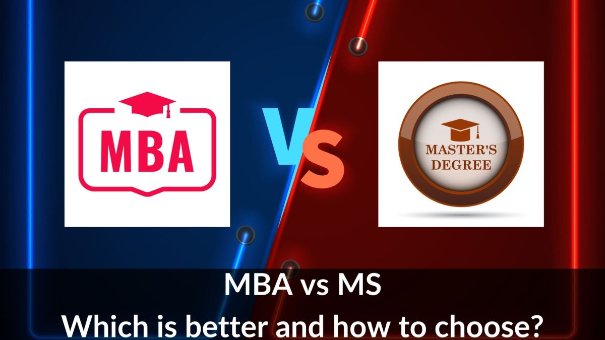 MBA vs MS