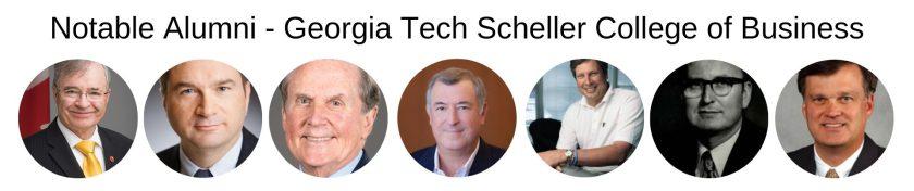 Georgia Tech MBA - Scheller College of Business - Notable Alumni