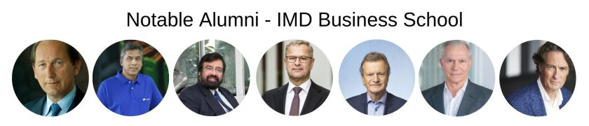 IMD Business School - IMD MBA Program - Notable Alumni