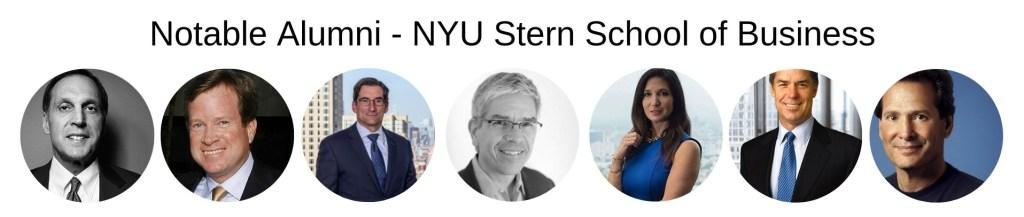 NYU Stern School of Business, Stern MBA Program - Notable Alumni
