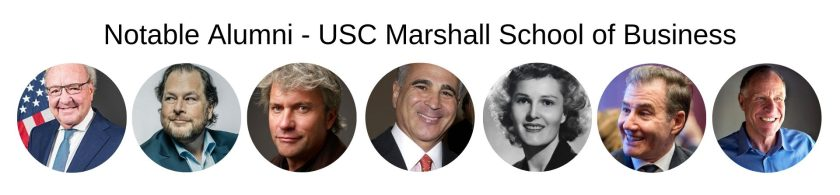 USC Marshall School of Business - USC MBA Program - Notable Alumni