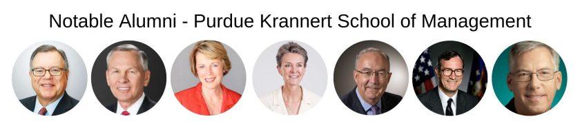 Purdue University Krannert School of Management - Purdue MBA Notable Alumni