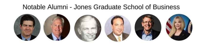 Rice University - Jones Graduate School of Business - Notable Alumni - Rice MBA Program