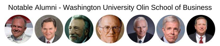 Washington University Olin Business School - Olin MBA Program - Notable Alumni