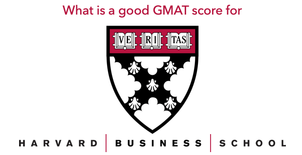 good GMAT score for harvard business school