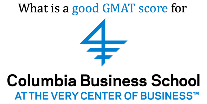 good GMAT score for Columbia Business School