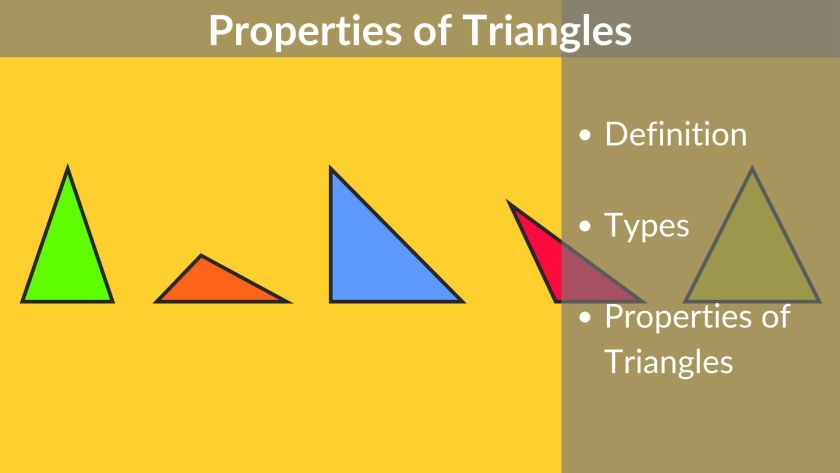 Properties of triangles - Classification of Triangles