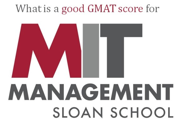 what is a good GMAT score for MIT Sloan school of management