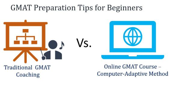 Online adaptive training vs Traditional training- GMAT prep tips