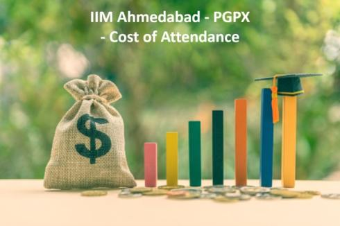 IIM Ahmedabad PGPX Cost of attendance