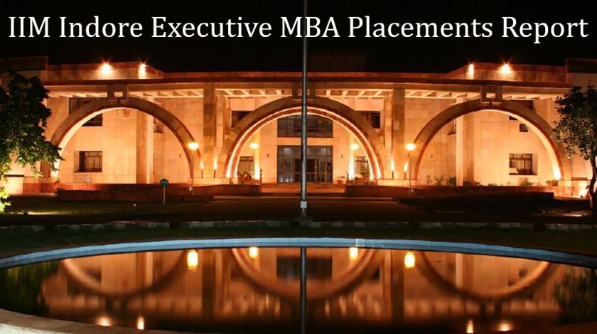IIM Indore executive MBA placements report