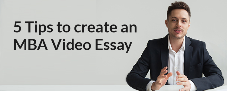 How to prepare for video essay?