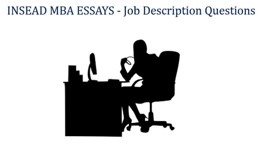 Mba admission essays buy insead