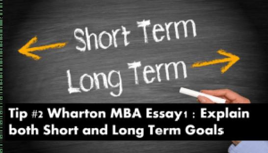 Wharton mba essays