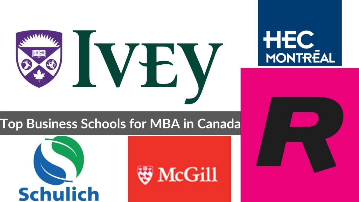 Top Business Schools for MBA in Canada
