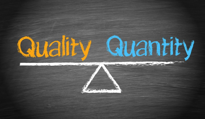 Choose quality over quantity to get a GMAT 770 score
