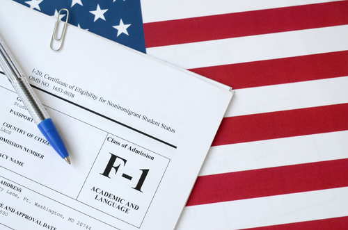 F1 Visa after student loan for MBA