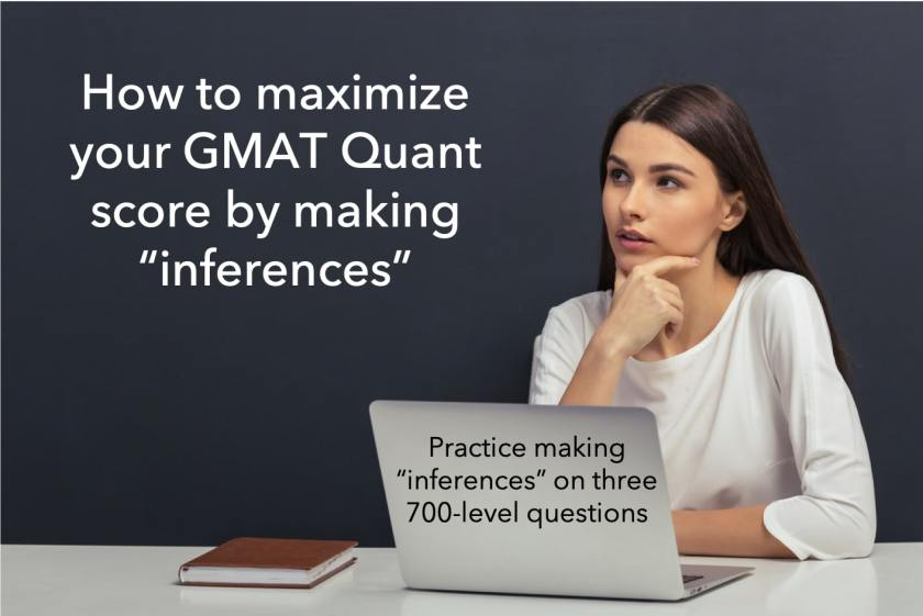 gmat quant questions on inference