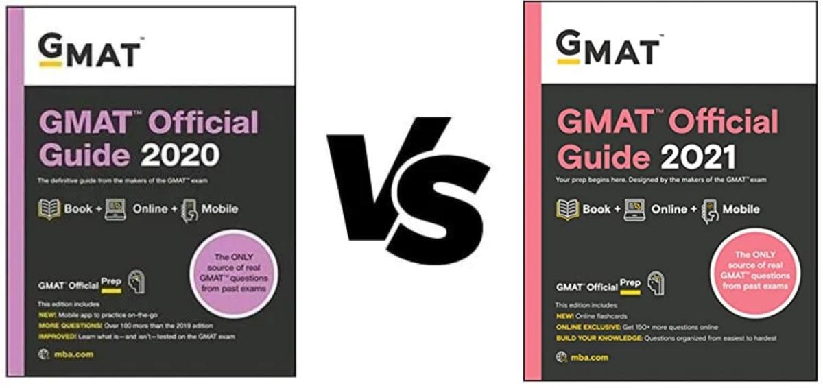 GMAT OG 2021 vs OG 2020