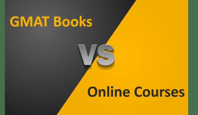 GMAT Books vs online preparation courses