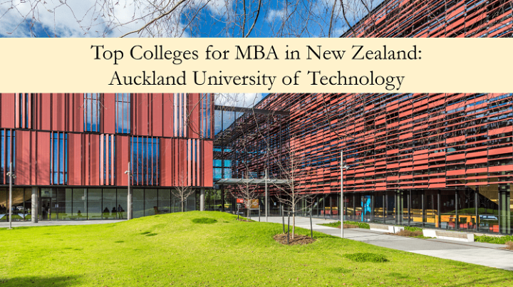 Auckland University of Technology top colleges for MBA