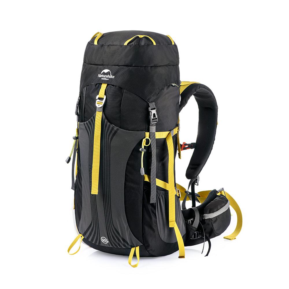 4cd2ab7f686e7 Plecak Naturehike Hiking 55 L Czarny - Sklep sportowy i turystyczny ...