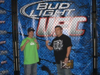UFC 94 Weekend In Vegas