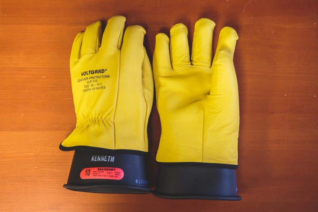 Wearing Arc Rated Gloves on the Job
