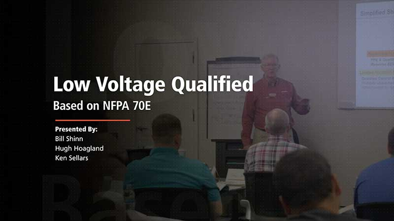 Low Voltage Qualified 2018 Video Now Available