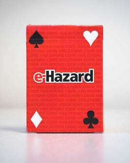 Electrical Violation Playing Cards