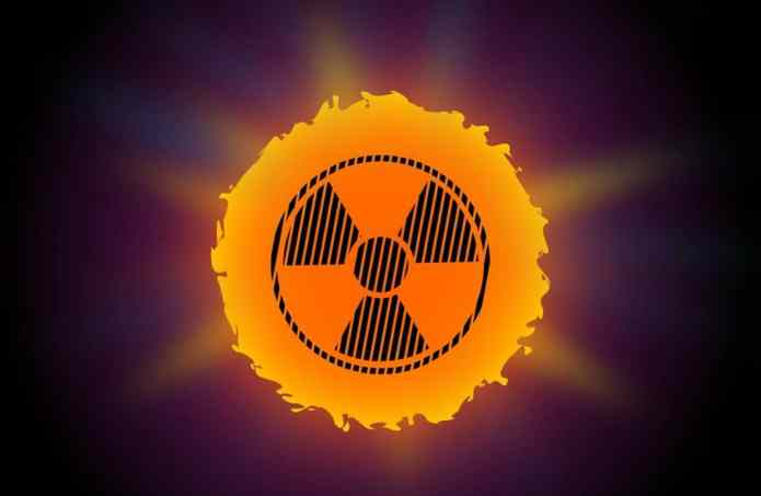 Sun burn Radiation isa big cause of cancer