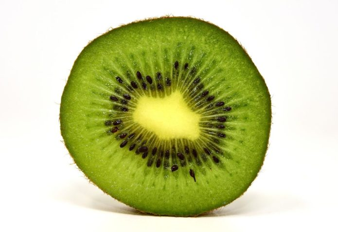 Kiwi a great form of Fiber and helps you poop