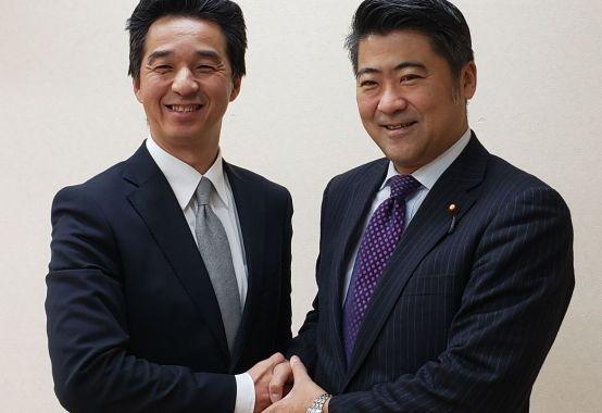 衆議員 木原せいじ氏と 森田ひろゆき|自由民主党推薦東大和市議会議員選挙