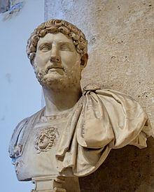 Publio Aelio Adriano, emperador romano, disnasti antonina, roma, cinco buenos emperadores
