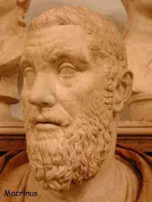 Macrino, emperador, romano, roma
